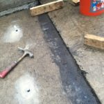 ASA Concrete Service: slab lifting and void filling - after lifting