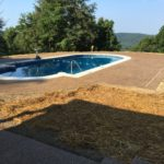 ASA Concrete Service: Residential Work - pool deck