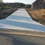 ASA Concrete Service: Residential Work - driveway for a new construction home
