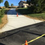 ASA Concrete Service: Residential Work - new driveway